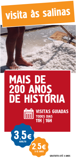 Visite as salinas de aveiro